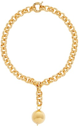 Timeless Pearly 24kt Gold-Plated Pendant Necklace