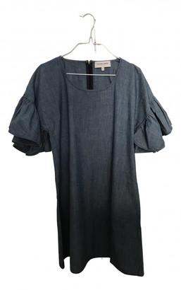 Maison Labiche Blue Cotton Dresses