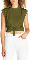 Thumbnail for your product : ÉTICA Gemma Tie-Front Sleeveless Muscle Tee