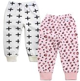 Monvecle Unisex Baby 2 Pack Newborn to Toddler Cotton Long Pants 6M