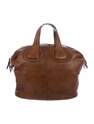 Givenchy Medium Leather Nightingale Bag Brown