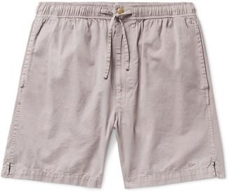 Pilgrim Surf + Supply Cheyne Cotton-Twill Drawstring Shorts