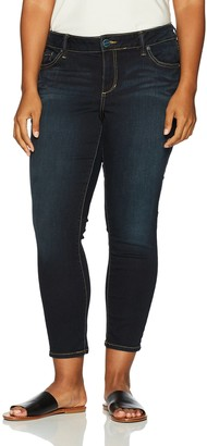 SLINK Jeans Women's Plus Size Ankle Jegging Jean
