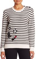 Rebecca Minkoff Prim Striped Cashmere Blend Knit Sweater