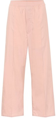 MM6 MAISON MARGIELA Cropped cotton-blend pants