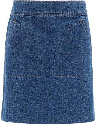 A.P.C. Shanya Mini Skirt