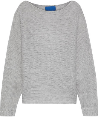 Simon Miller Fay Open-knit Mohair And Wool-blend Sweater