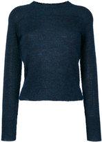 Etoile Isabel Marant Étoile round neck sweater - women - Acrylic/Polyamide/Mohair/Alpaca - 36