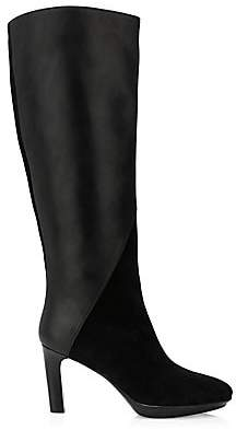 Aquatalia Women's Rayne Knee-High Leather & Suede Boots