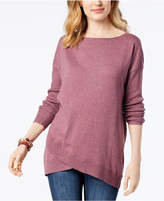 Style&Co. Style & Co Asymmetrical Sweater, Created for Macy's