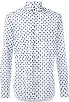 Barba clover print shirt