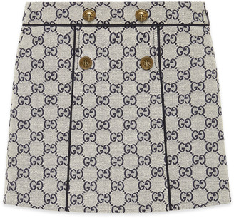 Gucci Children's GG canvas skirt