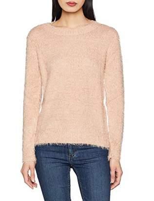 Molly Bracken Women's Ladies Knitted Sweater Jumper, Rose Light Pink, Small