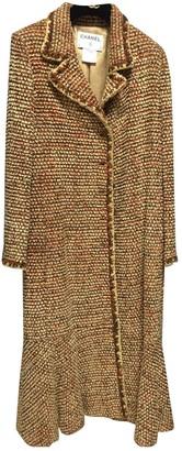 Chanel Camel Wool Coats