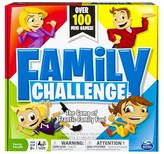 Spin Master Games Family Challenge Board Game