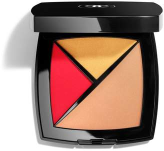 Chanel 2-In-1 Palette: Highlighter, Lip And Cheek Colour 190 Eclat Solaire - Colour Eclat Solaire