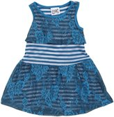 Erge Spandex Dress (Baby) - Royal-12 Months