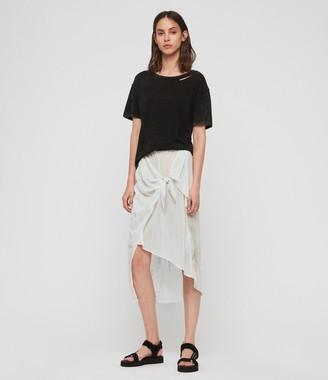 AllSaints Riyo Tie Dye Skirt