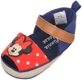 "Disney Minnie Mouse Baby Girls' ""Polka Peep Toe"" Sandal Booties"