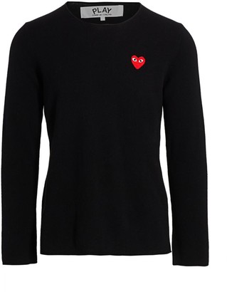Comme des Garcons Signature Wool Sweater