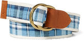 Ralph Lauren Madras D-Ring Belt
