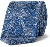 Simon Carter Damask Textured Floral Tie