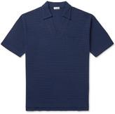 Camoshita Skipper Slim-Fit Striped Cotton-Piqué Polo Shirt