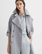 Club Monaco Adjustable Sleeve Soft Trench
