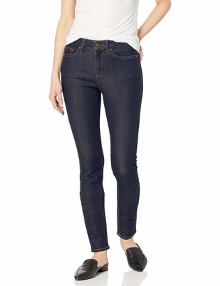 Daily Ritual Amazon Brand Women's High-Rise Skinny Jean-Pure Indigo 29 Short
