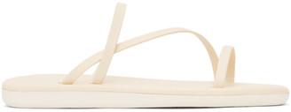 Ancient Greek Sandals Off-White Parthena Sandals