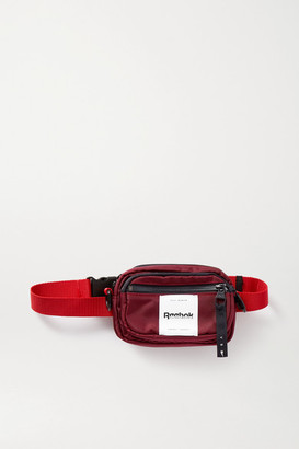Reebok x Victoria Beckham Appliqued Canvas Belt Bag - Burgundy