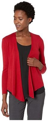 Nic+Zoe Four-Way Cardigan (Dahlia) Women's Sweater