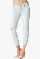 "7 For All Mankind Josefina Skinny Boyfriend In Distressed Light (27"" Inseam)"