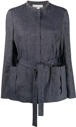 Fabiana Filippi Studded Collar Jacket