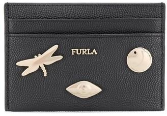 Furla Babylon badges cardholder wallet