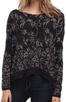 Free People Floral Fields Sweater