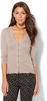 New York & Co. 7th Avenue - V-Neck Chelsea Cardigan