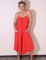 Tysa Sonoma Playsuit In Coral Mist