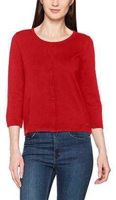 More & More Women's Strickjacke Cardigan, (Lipstick Red 0537)