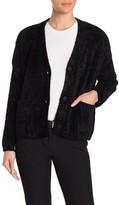 Cliche Fuzzy Knit Cardigan