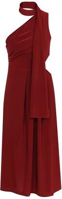 Kith&Kin Red Geometric Opening Waist Dress