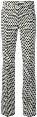 Dorothee Schumacher Micro-Printed Trousers