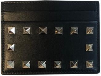 Valentino Guitar Rockstud Black Leather Purses, wallets & cases