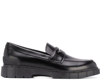 Car Shoe Chunky Sole Loafers