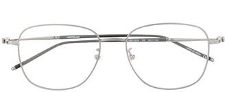 Montblanc Polished Round-Frame Glasses