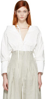Jacquemus White la Chemise Arlesienne Shirt