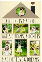 """New View A Home is Made of Love"""" 7-opening Photo Collage"""