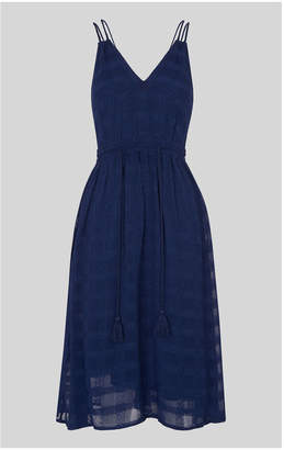 Whistles Hari Textured Strappy Dress
