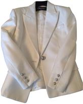 Balmain White Cotton Jacket