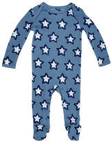 Stella McCartney Rufus Long-Sleeve Cosmic Star Footie Pajamas, Size 3-9 Months